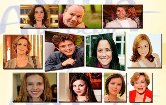 Elenco da Nova Novela das 6 da Rede Globo – A Vida da Gente