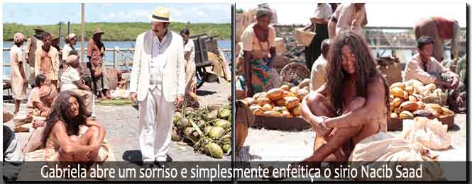 que Vem Por ai nos Capítulos da Novela Gabriela de Segunda, 18/06