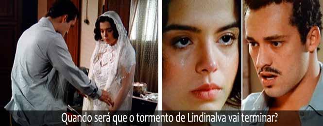 Novela Gabriela 19/07: Que sofrimento! Lindinalva veste de noiva e é ...
