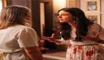 Boogie Oogie resumo dos capítulos: Mário conta a Gilda que foi Susana a responsável pela troca dos bebês e que ela era amante de Fernando.